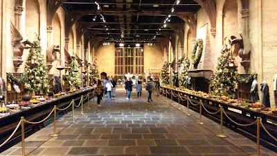 Comedor de Hogwarts, edición Navidad