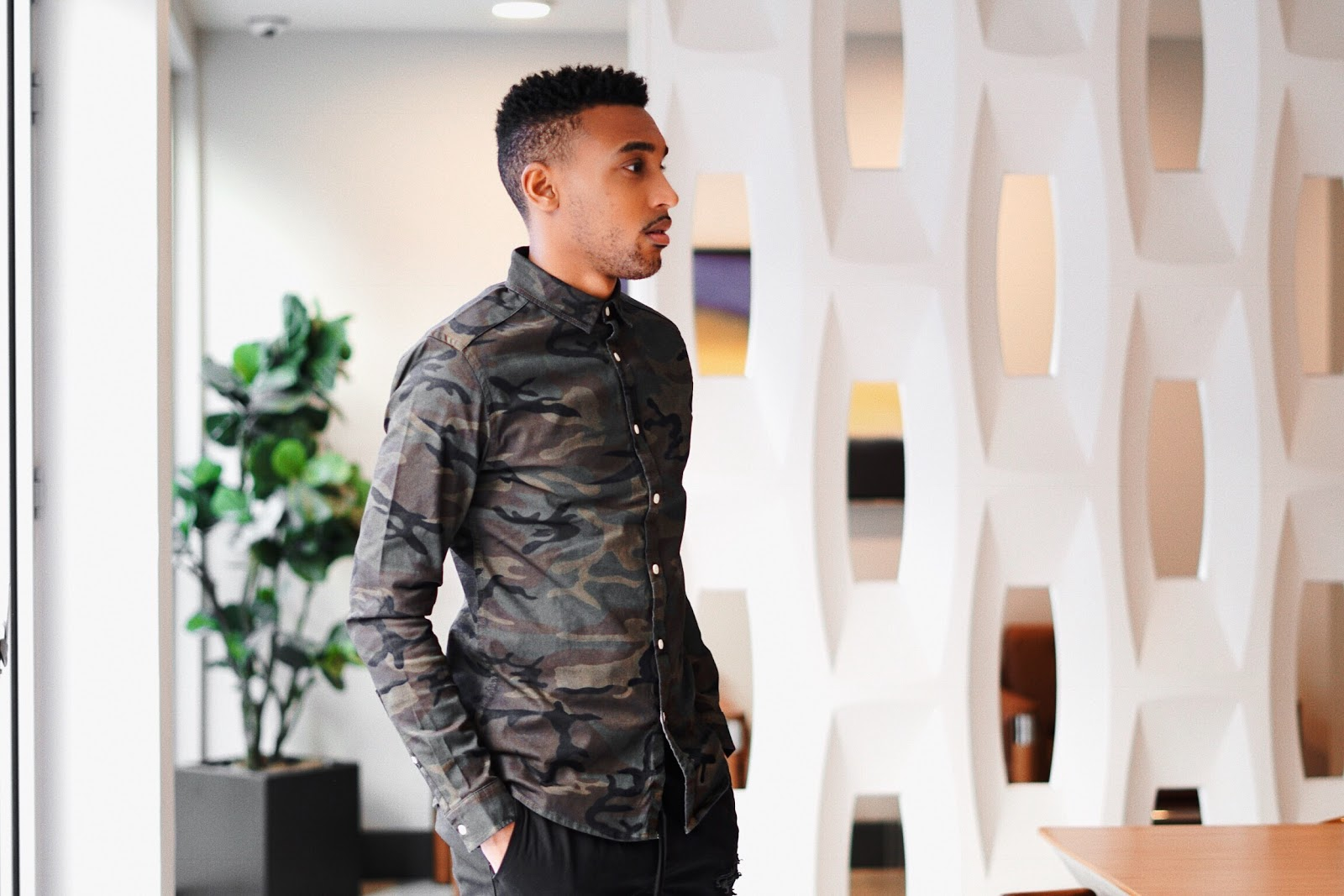 men wearing camo, camo for men, camo asos for men, camouflage mens fashion, men streetstyle camouflage