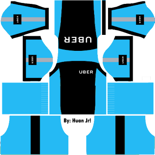 Kit Dream League Soccer Uber Biru