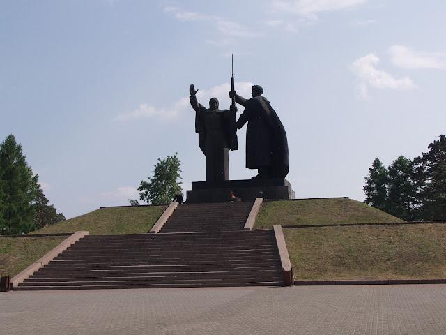 Мемориал Вечного Огня в Томске - Лагерный сад