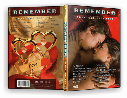 CAPA DVD – Remember Greatest Hits Live – DVD-R
