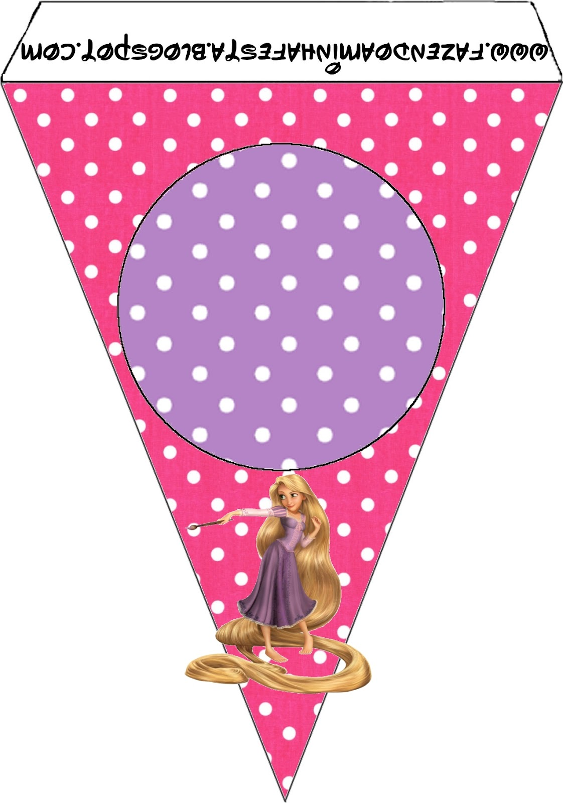 Tangled Rapunzel Party Free Printables