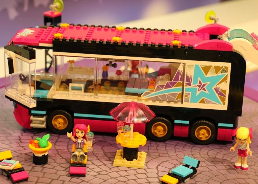 Gaming at the Disco: Lego Friends Pop Star Tour Bus