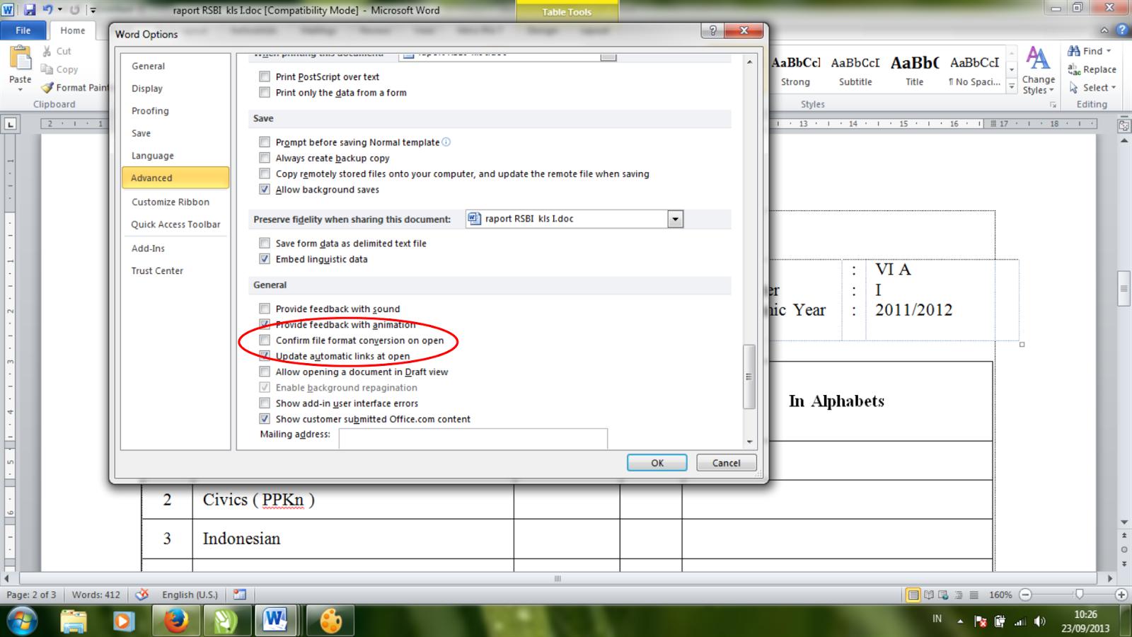 Nasoyspot Cara Mempertahankan Format Excel Pada