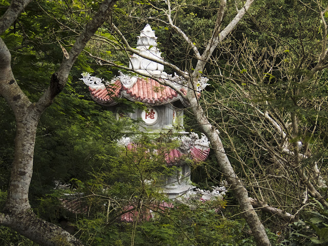 Pagoda in Vietnam's Marble Mountains