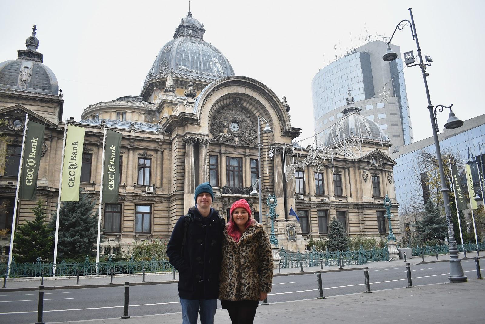 bucareste romenia inverno