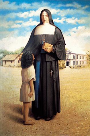 Resultado de imagen para Santa Paulina del Corazón Agonizante de Jesús