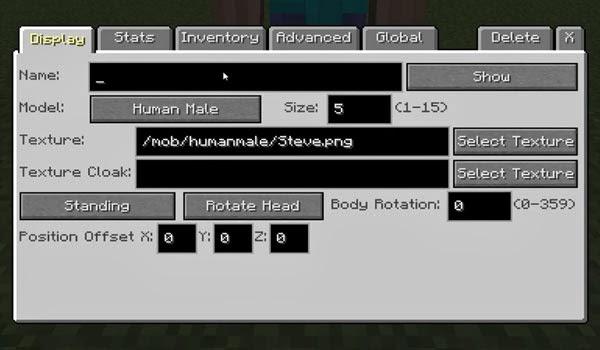 Imagen 1 - Custom NPCs Mod para Minecraft 1.8/1.8.9