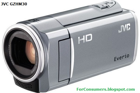 JVC GZ-HM30 camcorder review