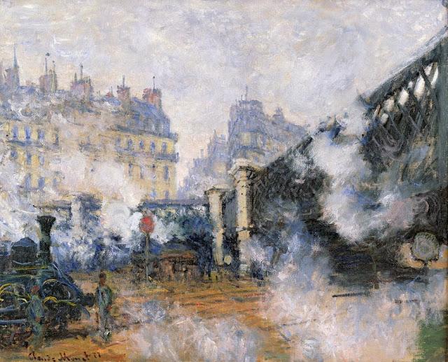 La Gare de Saint-Lazare, Monet