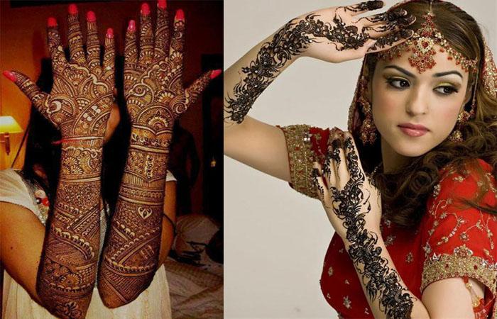 Dulhan Mehndi Design Photos Hot