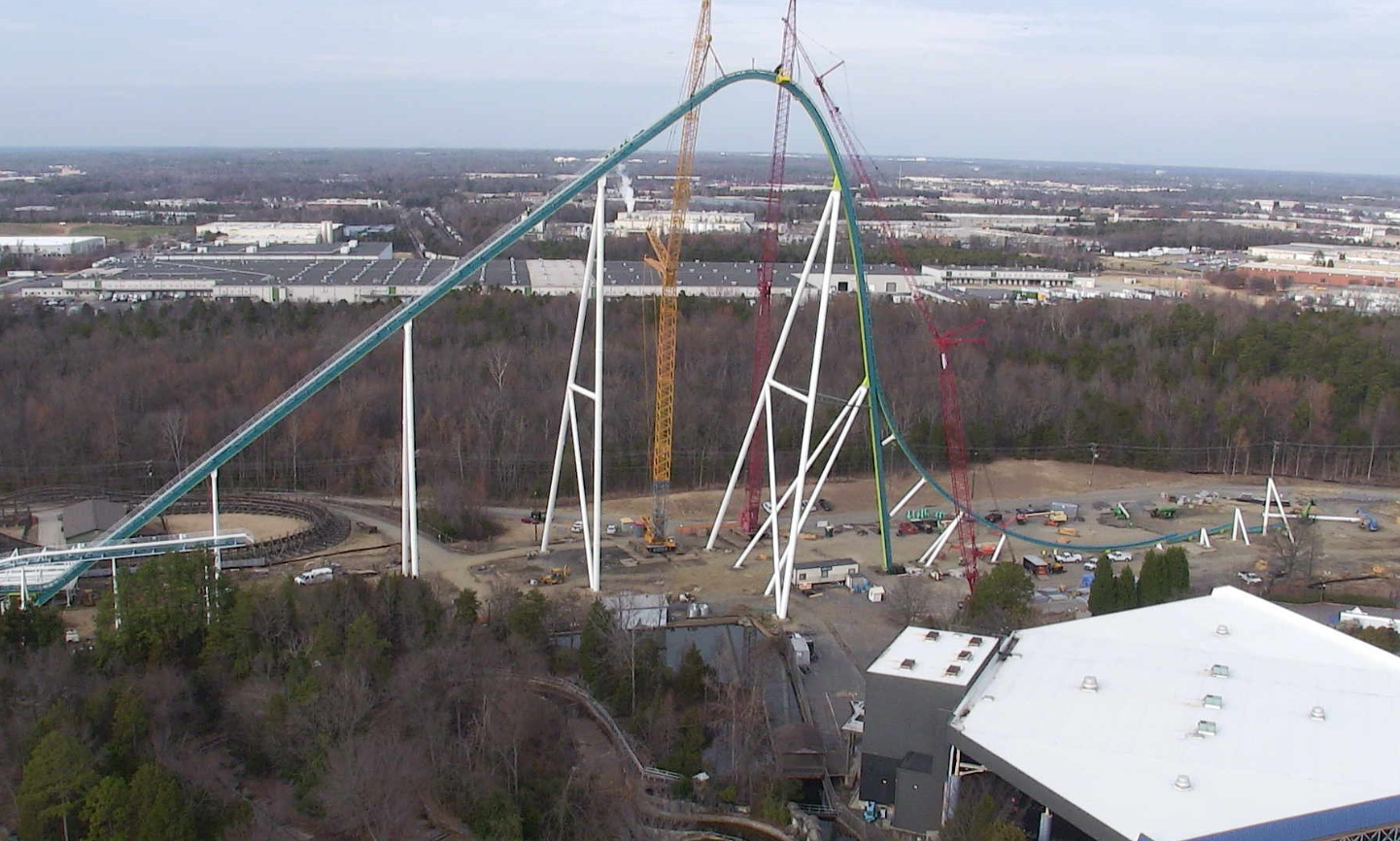 NewsPlusNotes: Fury 325 Topped Out at Carowinds