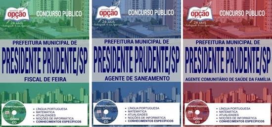 Apostila Concurso Prefeitura de Presidente Prudente SP 2017