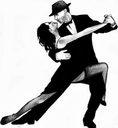 Ladies Black Ballroom Dance Shoes
