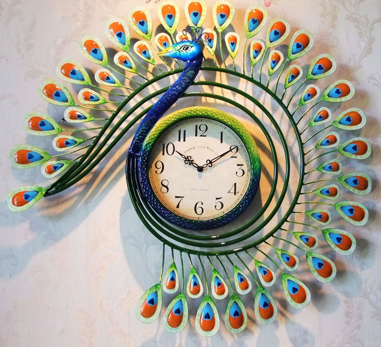 Handmade Wall Clock Design Ideas  Dwell Of Decor