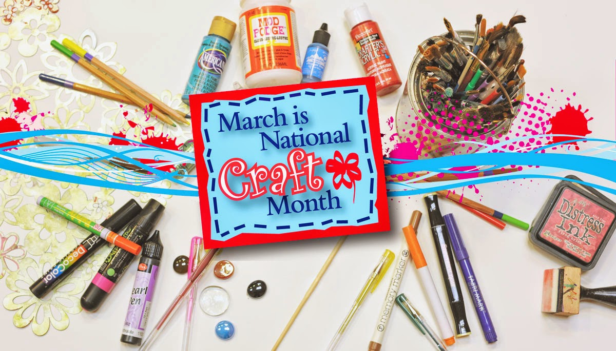 Ben franklin crafts and frame shop national craft month for Craft of the month