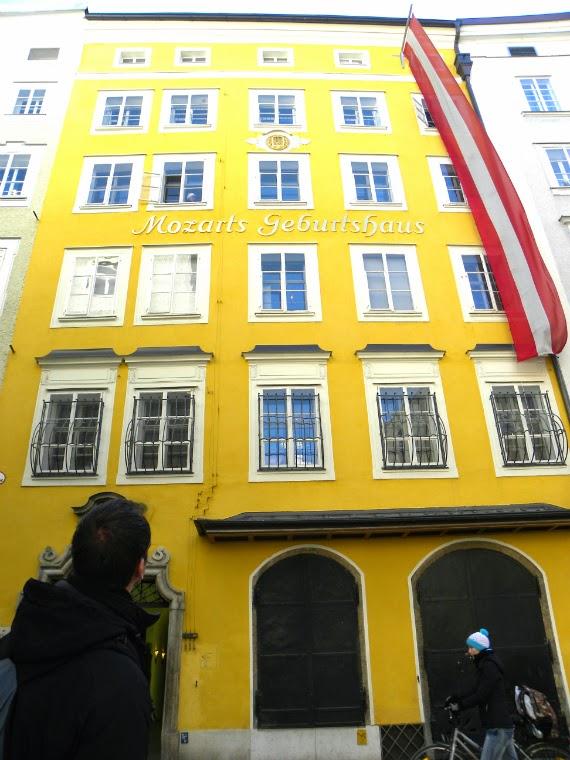 Salzburgo-Áustria-Mozart