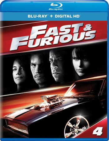 Fast and Furious 4 (2009) Dual Audio Hindi 480p BluRay 300MB Movie Download