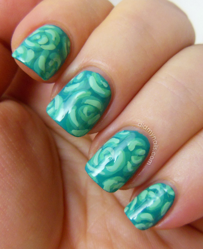 Did My Nails: Twinsie Tuesday: Cervical Health Awareness