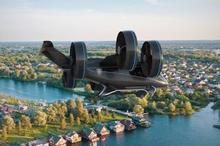 Bell Nexus self-flying air taxi
