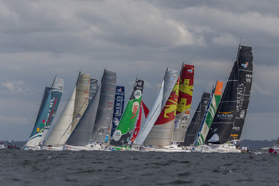 27 duos sur la Normandy Channel Race 2018 à Caen