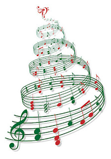 Image result for blues music with christmas decorations