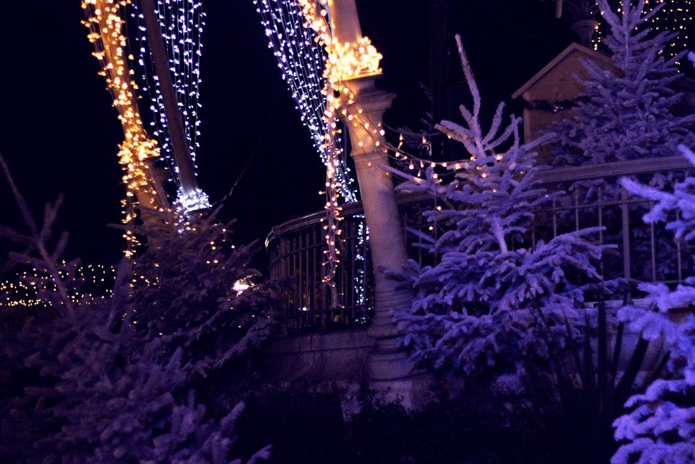 christmas decorations in cannes la croisette