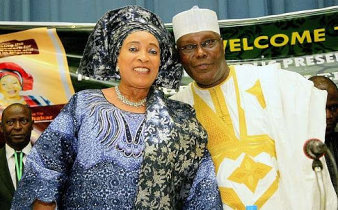 Image result for My husband is destined to be president —Titi Atiku Abubakar