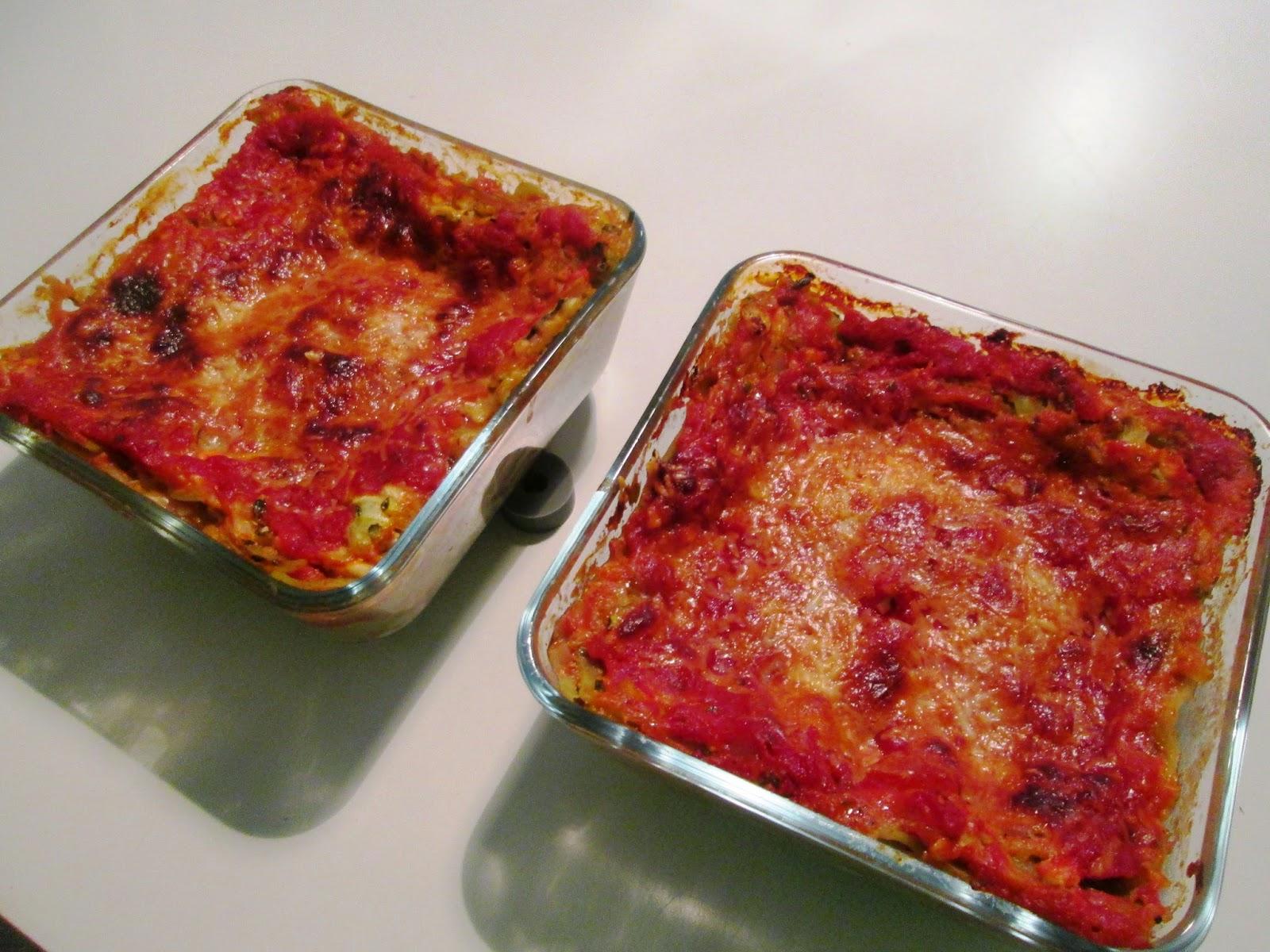 En verden af smag!: Squashlasagne med Hytteost