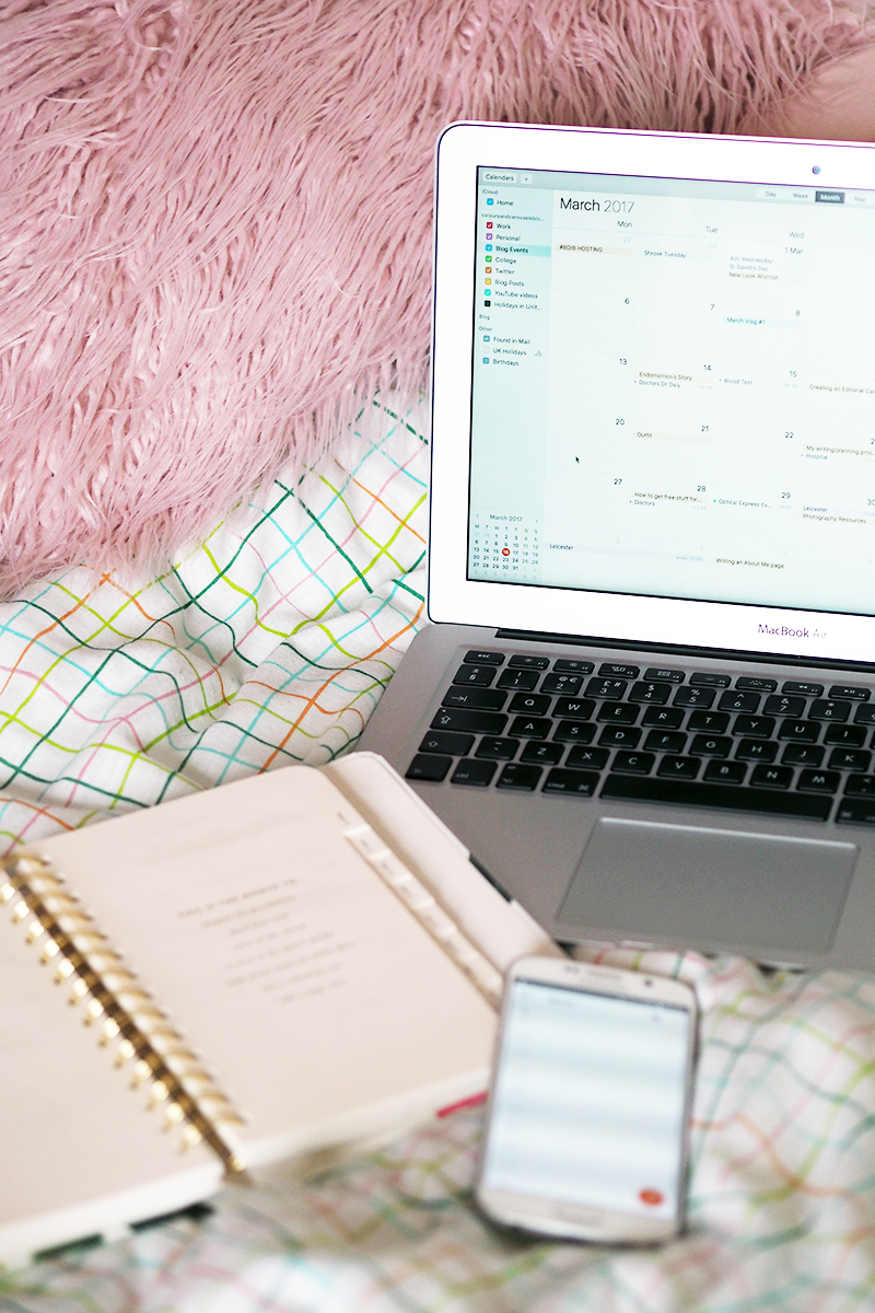 How To Create An Editorial Calendar For Your Blog | Colours and Carousels - Scottish Lifestyle, Beauty and Fashion blog