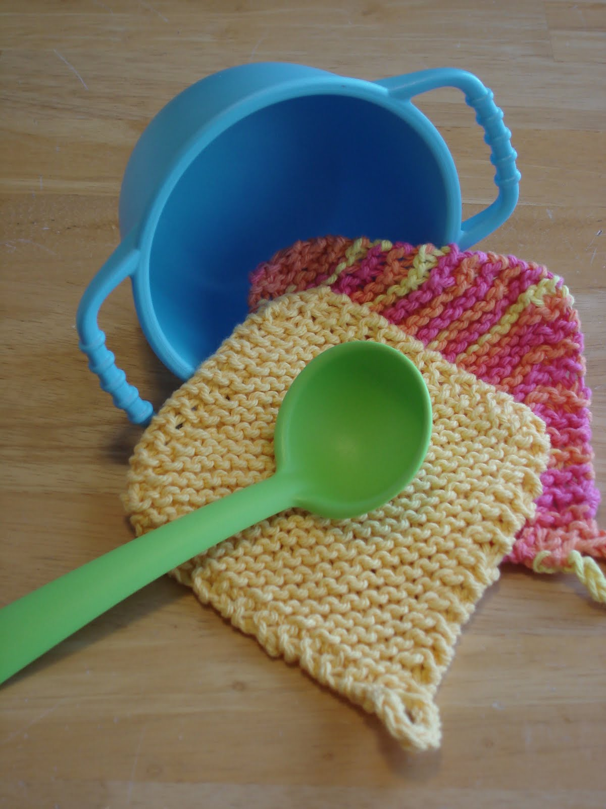 Fiber Flux: Free Knitting Pattern! Play Kitchen Potholders