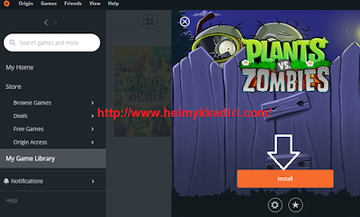Cara download dan install game origin kekomputer