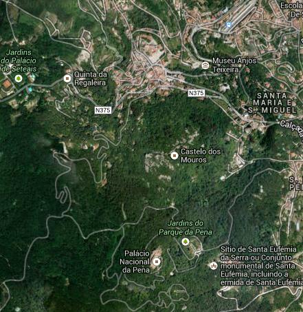 Mapa Sintra