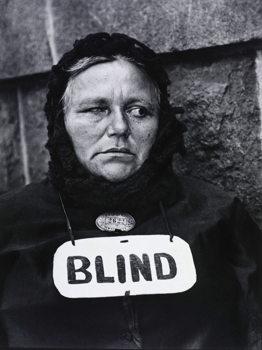 #53 Blind, Paul Strand, 1916 - Top 100 Of The Most Influential Photos Of All Time