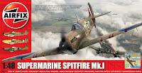 Montage: Airfix Spitfire MkI 1/48.