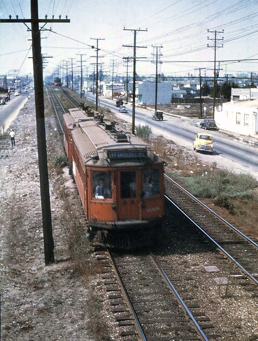 transpress nz: Pacific Electric interurbans on the Venice Short Line ...
