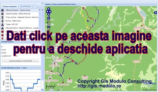 Romania Mountains Tourist Map Interactive Online Trails Map Romania