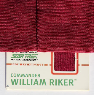 TNG season 1 admiral jacket - fabric