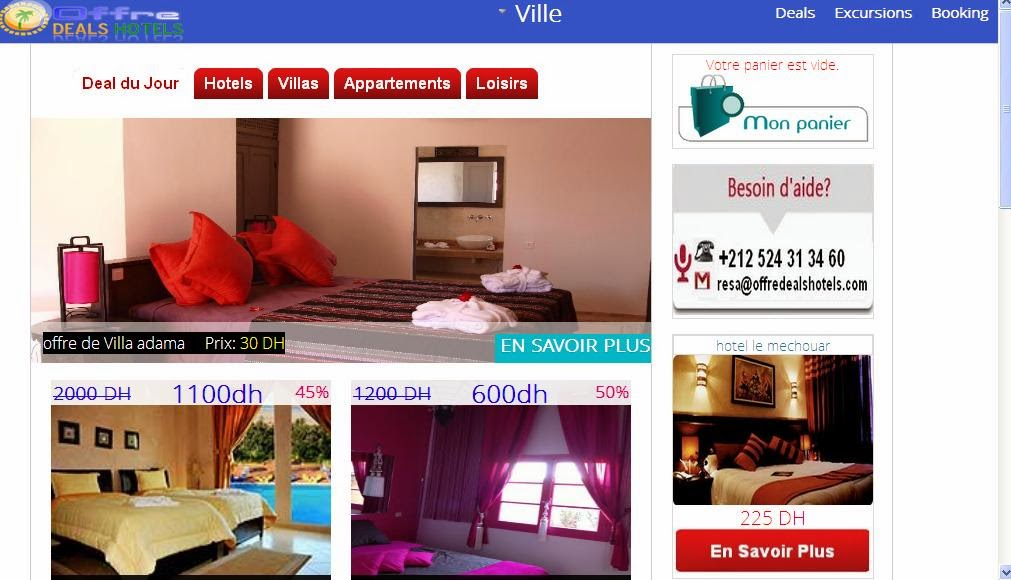 home picture_deal.offreDealsHotels.com : New Web Project Timilar to booking.com