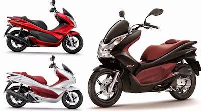 Foto New Honda PCX 150 Motor Model Terbaru