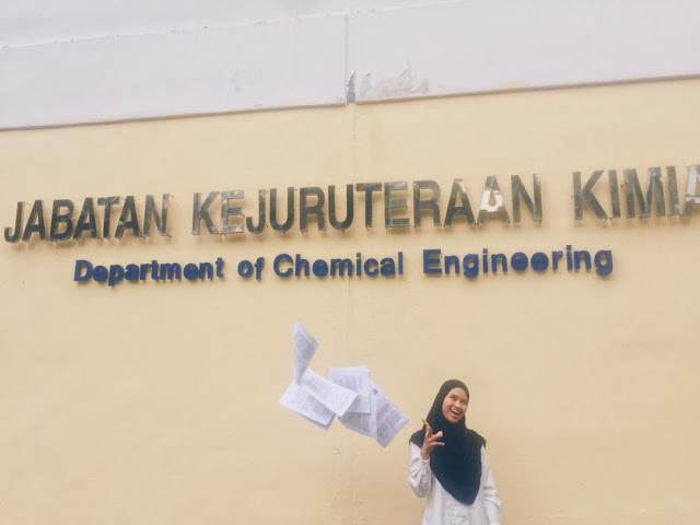 Final Chapter as Chemical Engineering Undergraduate