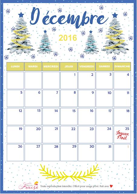 calendrier diy décembre 2016