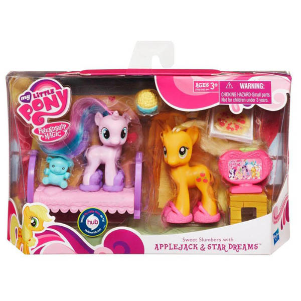 My Little Pony Sweet Slumbers Star Dreams Brushable