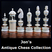 Jon's Antique Chess Collection