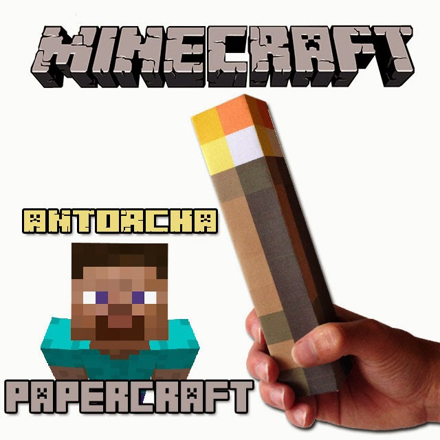 Papercraft de Minecraft