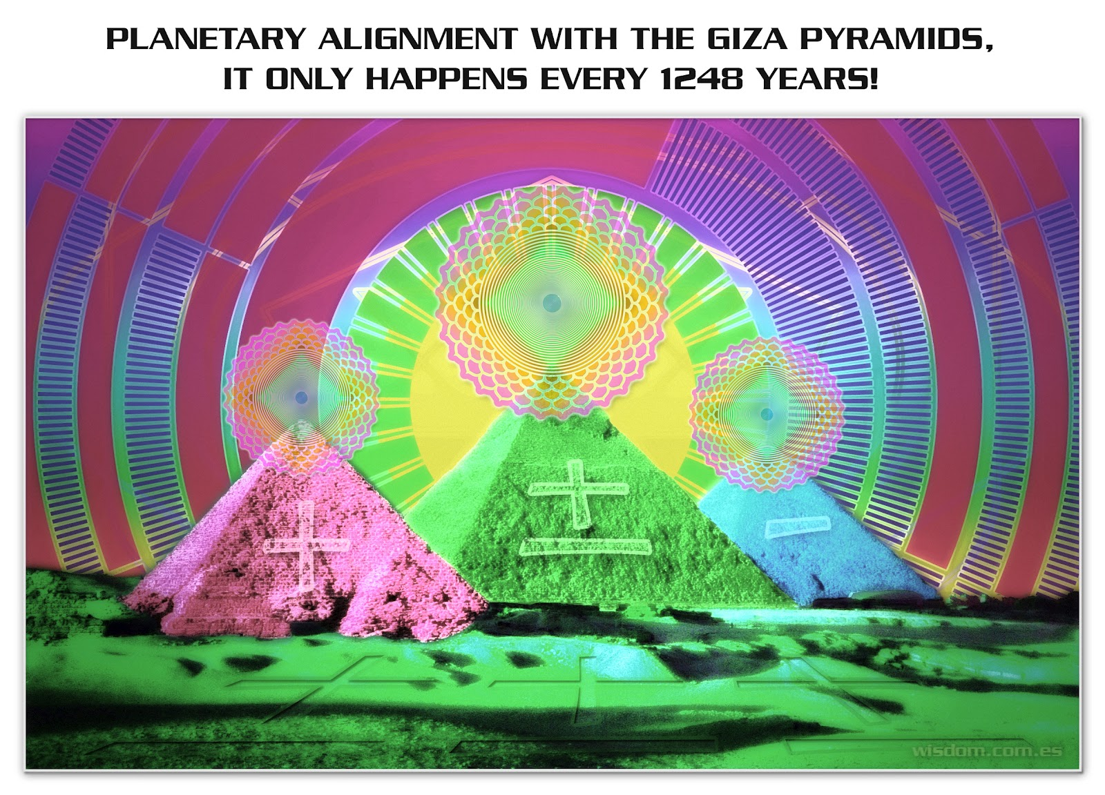 Planets Align with Giza Pyramids (page 2) - Pics about space