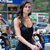 Nicole Harrison vai as audições para o Victoria's Secret Fashion Show 2017, em Midtown, em Nova York - 17/08/2017