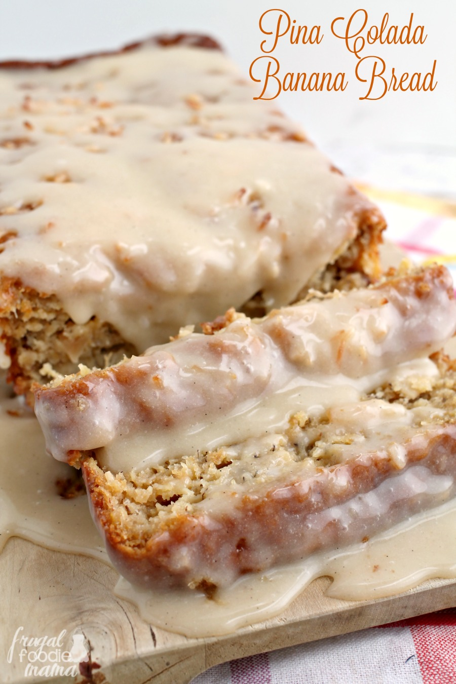 recipe: banana bread with rum glaze [1]