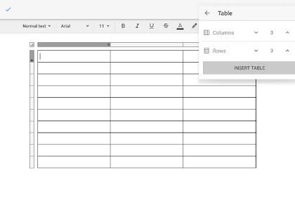 Cara membuat tabel di dalam postingan blog tanpa kode