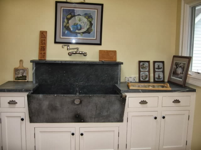 Management Chair Design Idea Vintage Soapstone Sinks